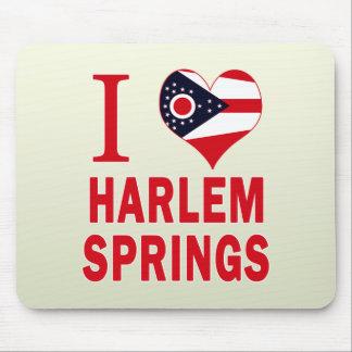 I love Harlem Springs, Ohio Mouse Pad