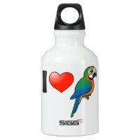 I Love Harlequin Macaws SIGG Traveller Water Bottle (0.6L)