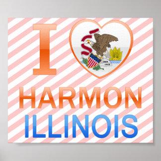 I Love Harmon, IL Posters