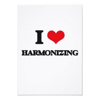 I love Harmonizing Cards