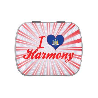 I Love Harmony, New York Candy Tins
