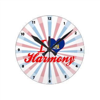 I Love Harmony, New York Wallclocks