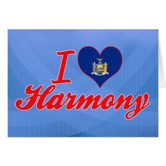 I Love Harmony, New York Greeting Card
