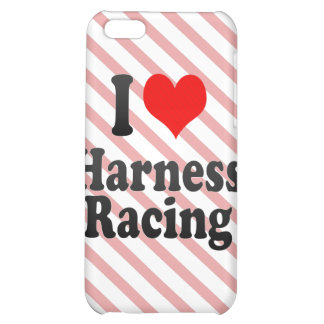 I love Harness Racing iPhone 5C Case