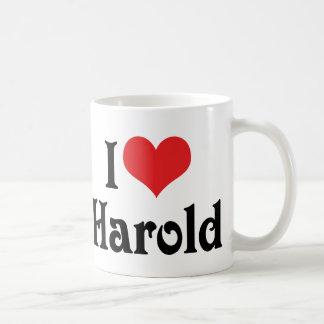 I Love Harold Classic White Coffee Mug