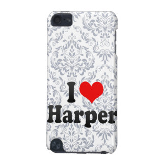 I love Harper iPod Touch (5th Generation) Cover