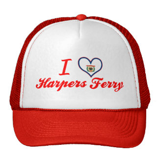 I Love Harpers+Ferry, West Virginia Trucker Hat