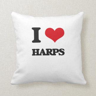 I love Harps Pillow