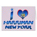 I love Harriman, New York Card
