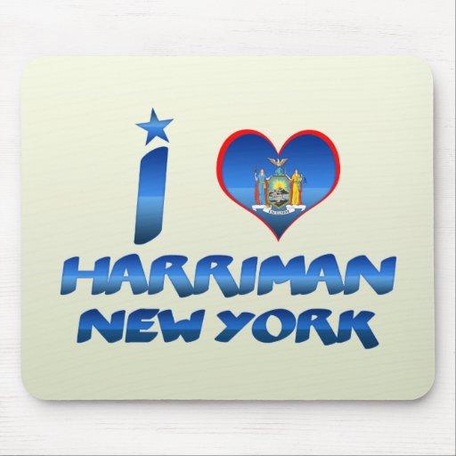 I love Harriman, New York Mousepads