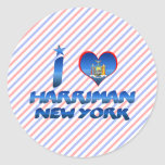 I love Harriman, New York Sticker