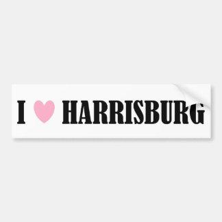 I LOVE HARRISBURG BUMPER STICKER