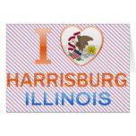 I Love Harrisburg, IL Greeting Card