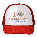 I Love Harrisburg, IL Trucker Hat