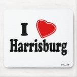 I Love Harrisburg Mouse Pad