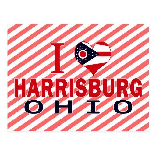 I love Harrisburg, Ohio Postcard