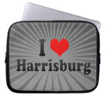 I Love Harrisburg, United States Computer Sleeves