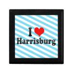 I Love Harrisburg, United States Gift Boxes