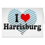 I Love Harrisburg, United States Greeting Card