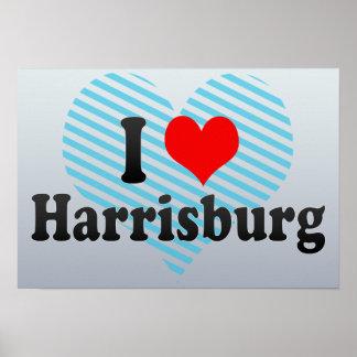 I Love Harrisburg, United States Poster