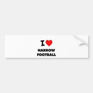 I Love Harrow Football Bumper Stickers