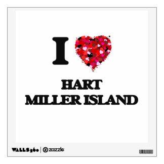 I love Hart Miller Island Maryland Wall Sticker