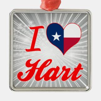 I Love Hart, Texas Ornament
