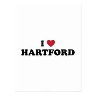 I Love Hartford Connecticut Post Cards