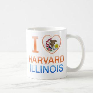 I Love Harvard, IL Mugs