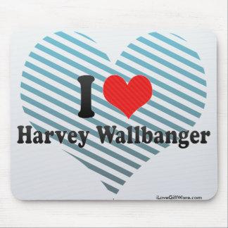 I Love Harvey Wallbanger Mouse Pad