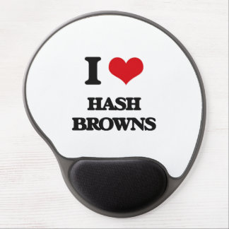 I love Hash Browns Gel Mouse Mats