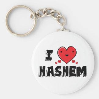 I Love Hashem Keychain