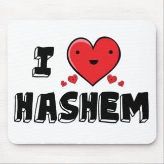 I Love Hashem Mouse Pad