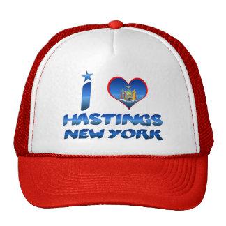I love Hastings, New York Hats