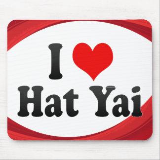 I Love Hat Yai, Thailand Mouse Pad