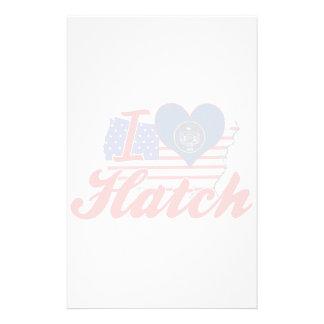 I Love Hatch, Utah Custom Stationery