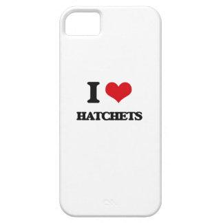 I love Hatchets iPhone 5 Case