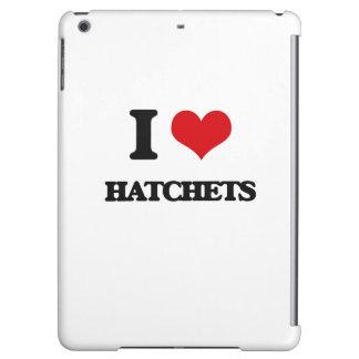 I love Hatchets iPad Air Case