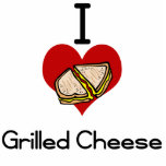 I love-hate grilled cheese photo cutouts