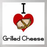 I love-hate grilled cheese print