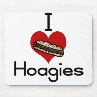 I love-hate hoagies mousepad