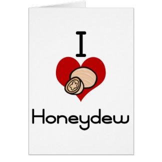 I love-hate honeydew card