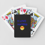 I LOVE HATER PLAYING CARDS