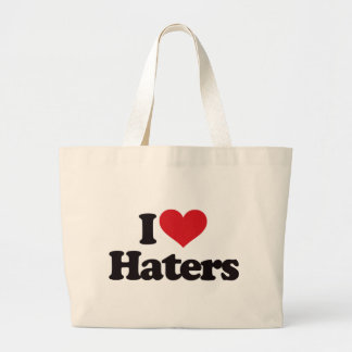 I Love Haters! Bags