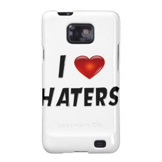 I Love Haters Samsung Galaxy SII Cover