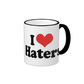 I Love Haters Mug