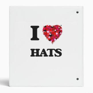I love Hats Binders