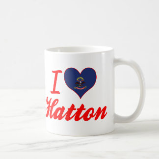 I Love Hatton, North Dakota Coffee Mugs