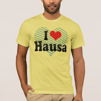 I Love Hausa T-Shirt