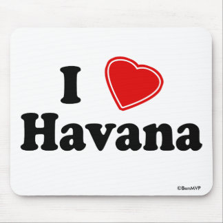 I Love Havana Mouse Pad